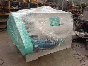 Flour Batch Paddle Mixer ready to delivery to Agentina.